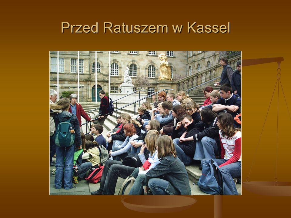 Przed Ratuszem w Kassel