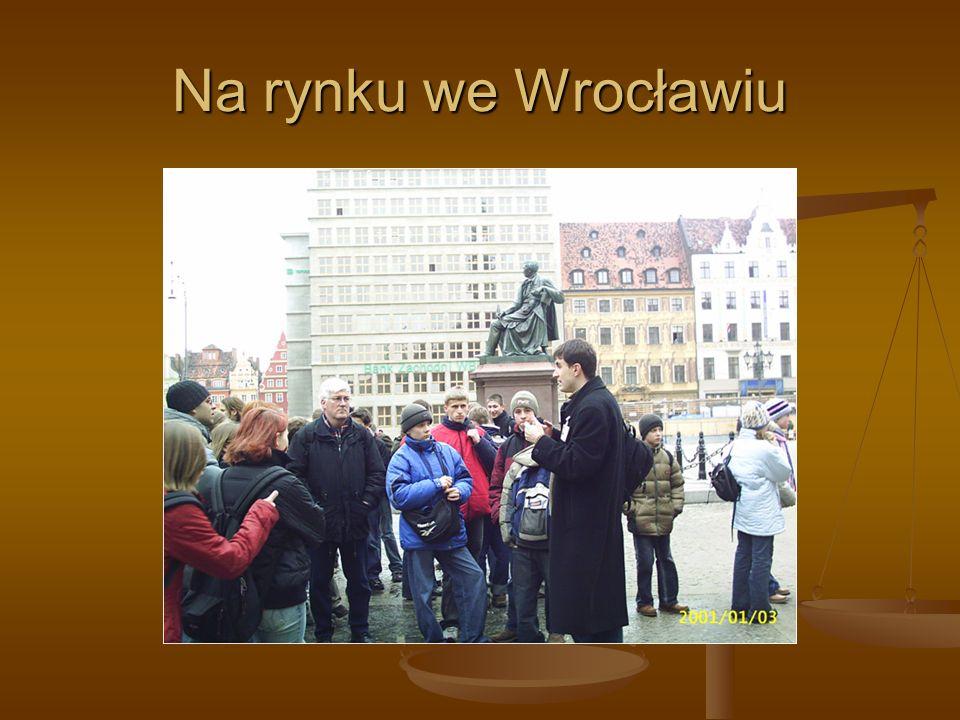 Na rynku we Wrocławiu