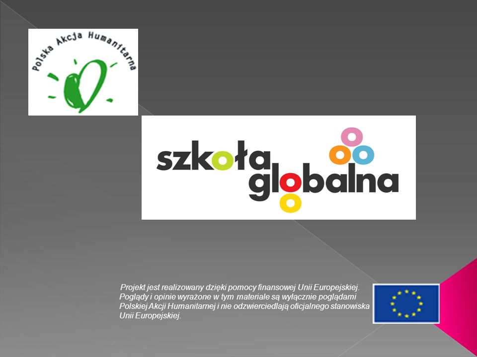 Projekt jest realizowany dzięki pomocy finansowej Unii Europejskiej. Poglądy i opinie wyrażone w tym materiale są wyłącznie poglądami Polskiej Akcji H
