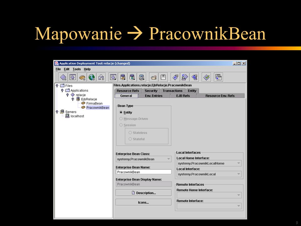 9 Mapowanie PracownikBean