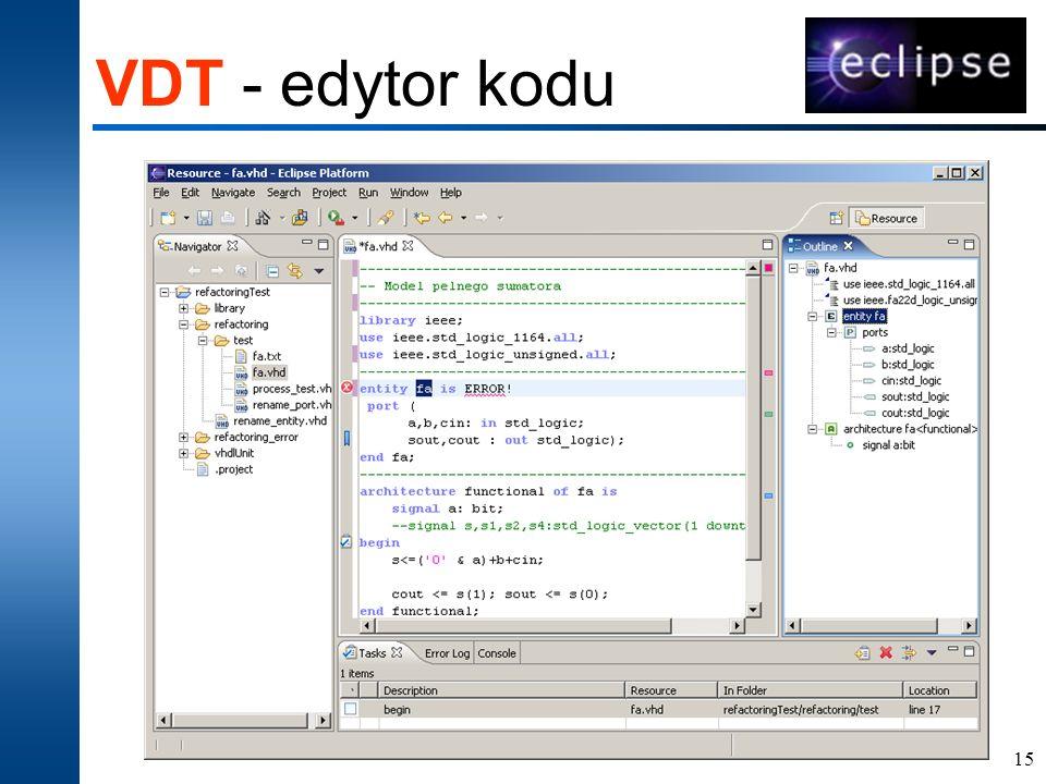 15 VDT - edytor kodu