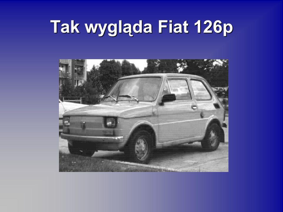 Tak wygląda Fiat 126p