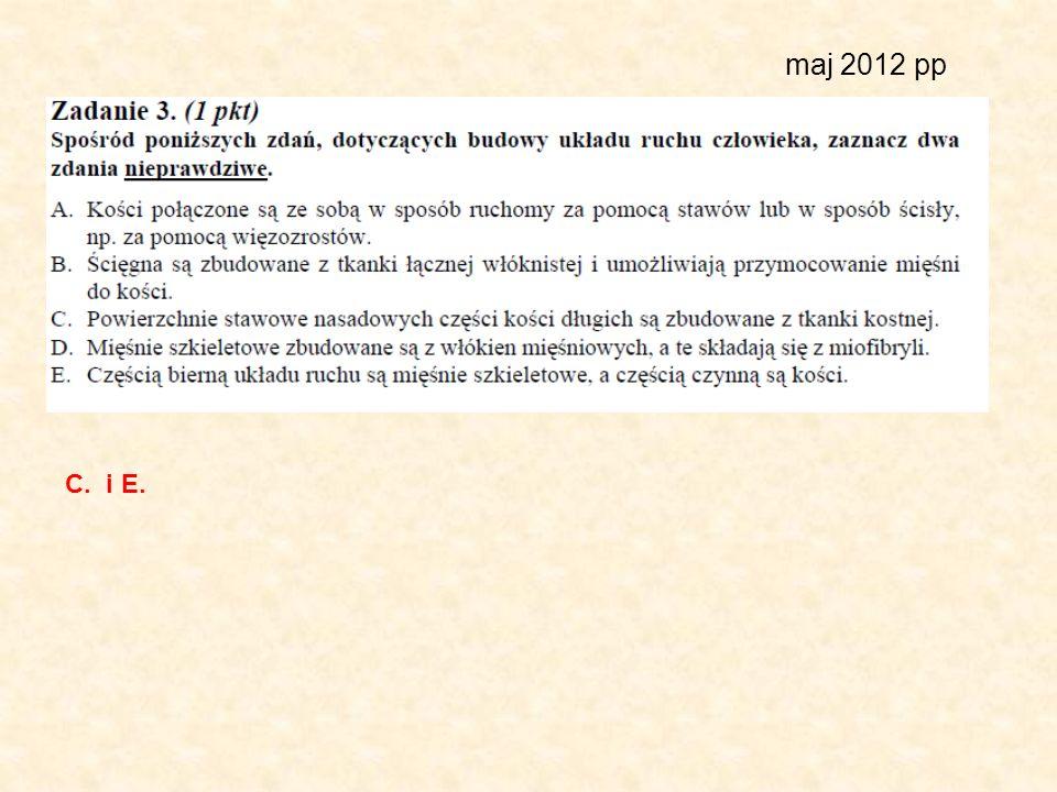 maj 2012 pp C. i E.