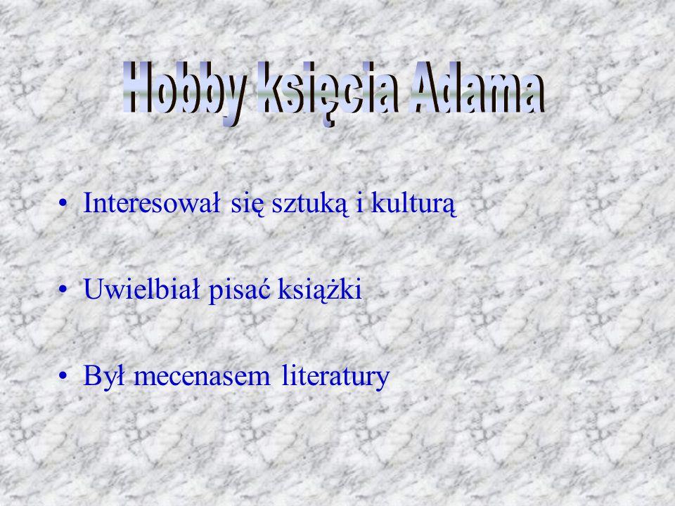 Interesował się sztuką i kulturą Uwielbiał pisać książki Był mecenasem literatury