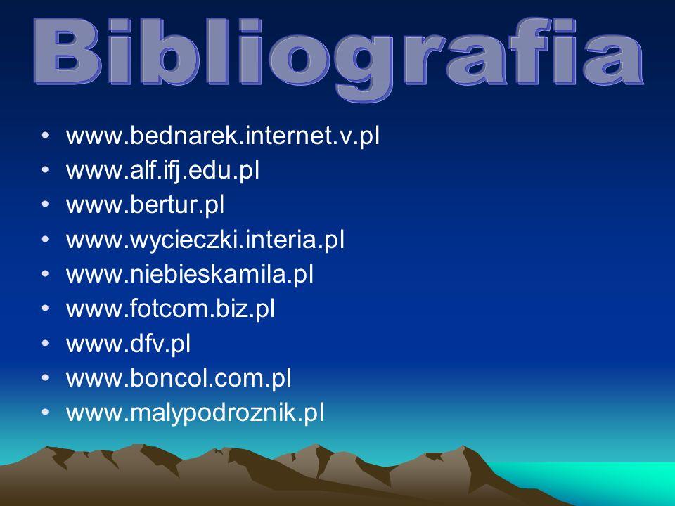 www.bednarek.internet.v.pl www.alf.ifj.edu.pl www.bertur.pl www.wycieczki.interia.pl www.niebieskamila.pl www.fotcom.biz.pl www.dfv.pl www.boncol.com.