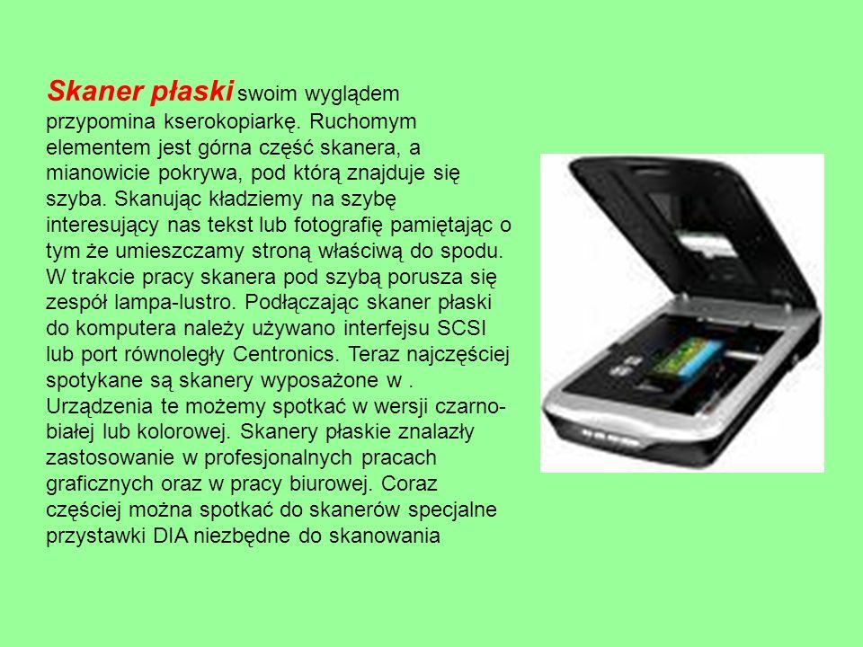 Skaner bębnowy - urządzenie peryferyjne komputera pozwalające na stworzenie postaci cyfrowej obrazu z oryginałów transparentnych (przeźroczystych) czyli slajdów lub negatywów fotograficznych.