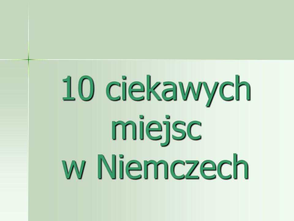 1.LIPSK Lipsk jest jednym z niemieckich miast.Jest tu wiele ciekawych miejsc.