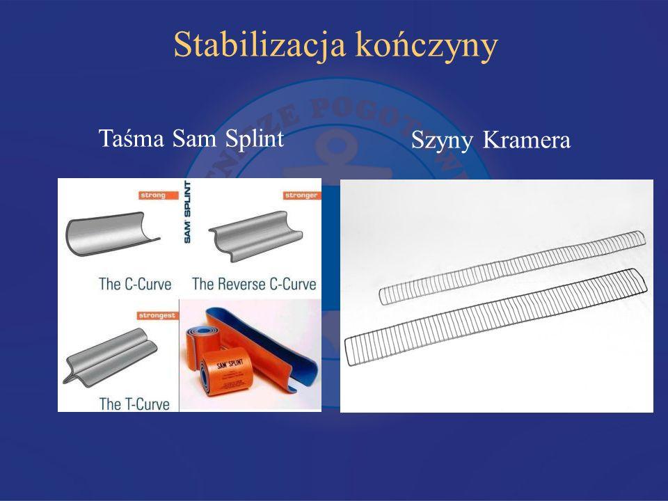 Stabilizacja kończyny Taśma Sam Splint Szyny Kramera