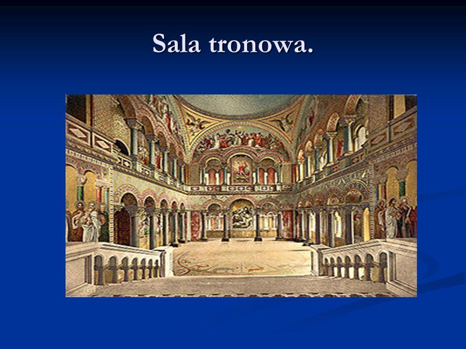 Sala tronowa.