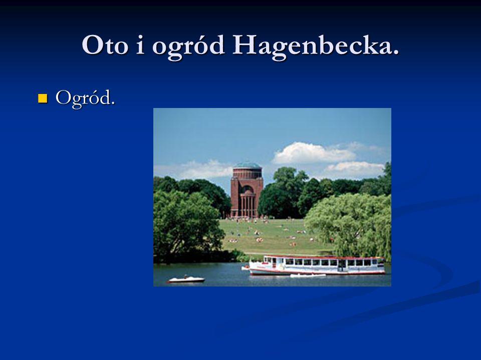 Oto i ogród Hagenbecka. Ogród. Ogród.