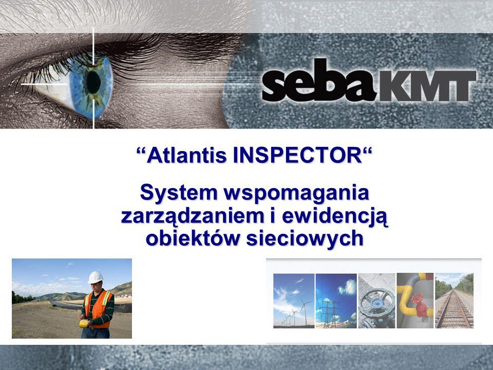 Atlantis INSPECTOR 2014-01-18 12 Wizualizacja danych pomiarowych na zdjęciu satelitarnym Analizowanie danych: Automatyczna analiza danych i generowanie macierzy ocen stanu technicznego obiektów w celu ustalenia priorytetów konserwacji