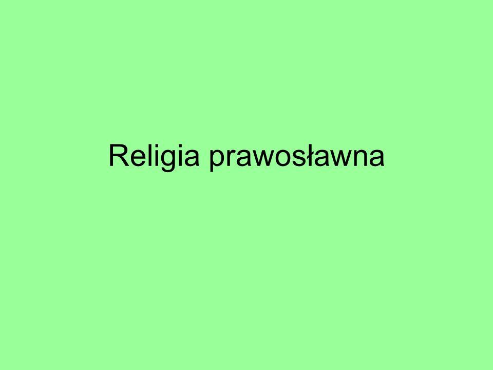 Religia prawosławna