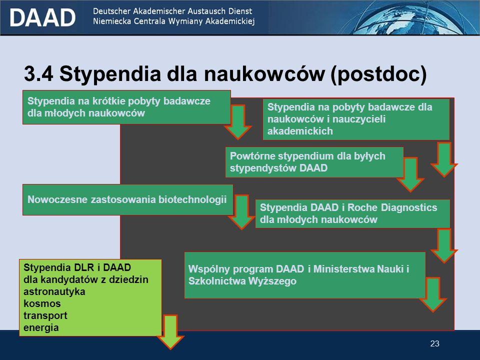 Stypendia DLR-DAAD Niemieckie Centrum Podróży Powietrznych i Kosmicznych (DLR) i DAAD oferują wybitnym zagranicznym doktorantom i naukowcom stypendia