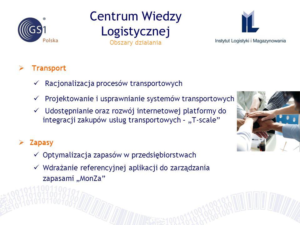 Transport Racjonalizacja procesów transportowych Projektowanie i usprawnianie systemów transportowych Udostępnianie oraz rozwój internetowej platformy