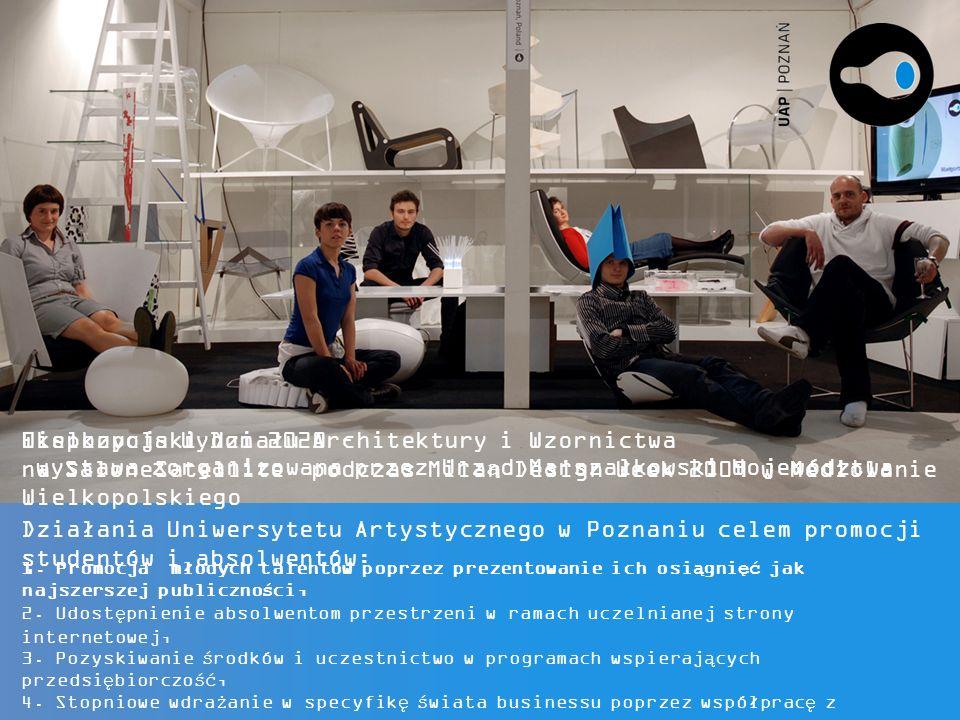 Działania Uniwersytetu Artystycznego w Poznaniu celem promocji studentów i absolwentów: 1.