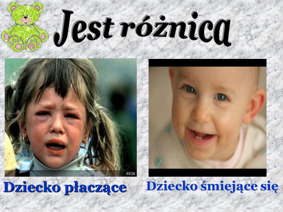 Dziecko płaczące Dziecko śmiejące się