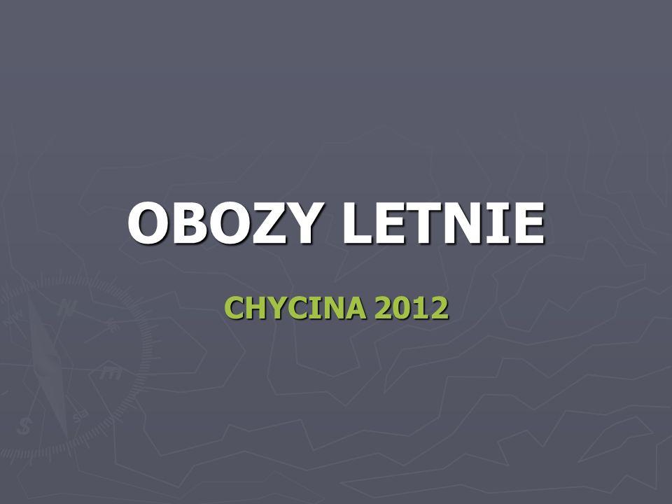 OBOZY LETNIE CHYCINA 2012
