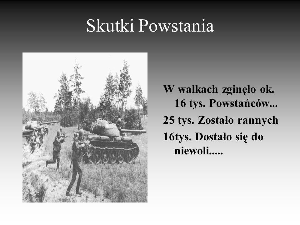Mundury powstańców Umundurowanie powstańców miało zamiar, podobnie jak broń, podnieść morale walczących. Bowiem jeżeli cywil, bądź żołnierz założy mun
