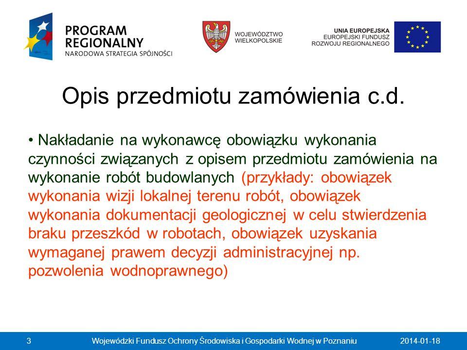 Dokumenty żądane od wykonawców Naruszenia rozporządzenia Prezesa Rady Ministrów z dnia 30 grudnia 2009 r.