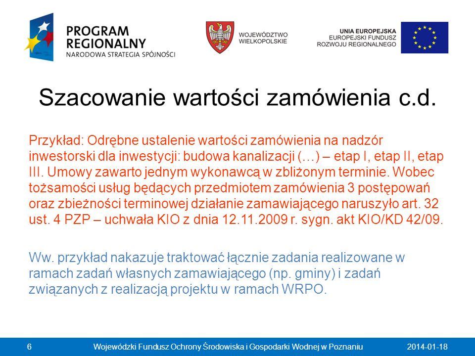 Dokumenty żądane od wykonawców c.d.W praktyce ww.