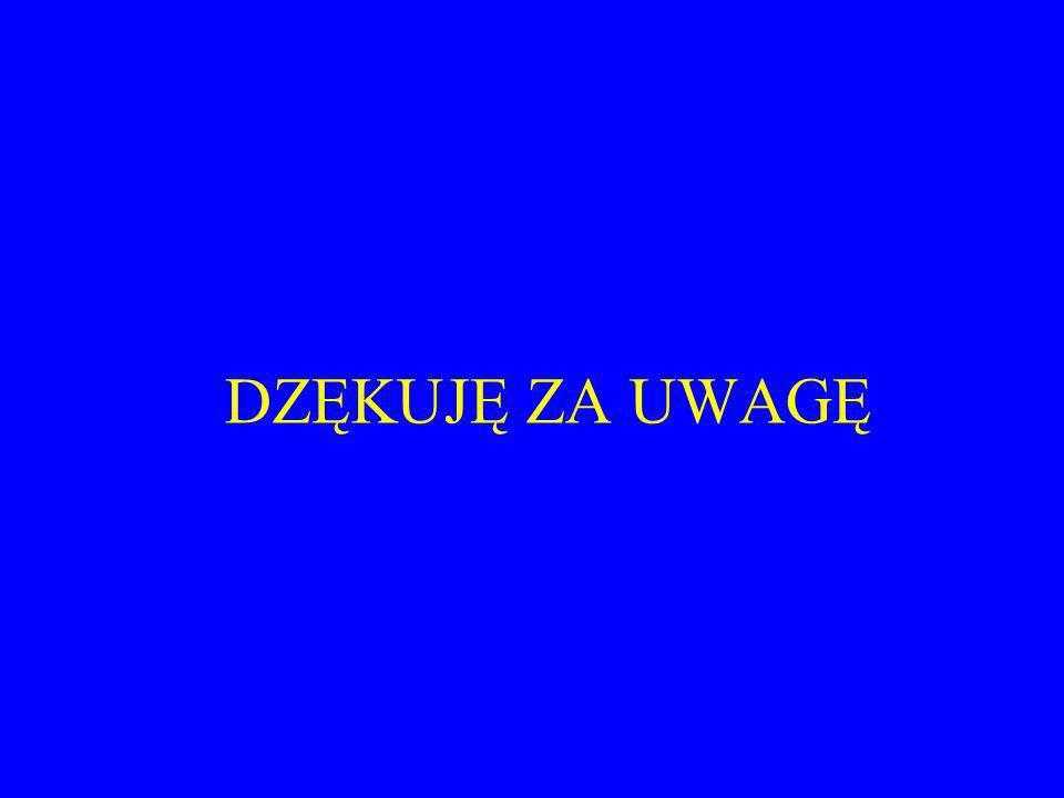 DZĘKUJĘ ZA UWAGĘ