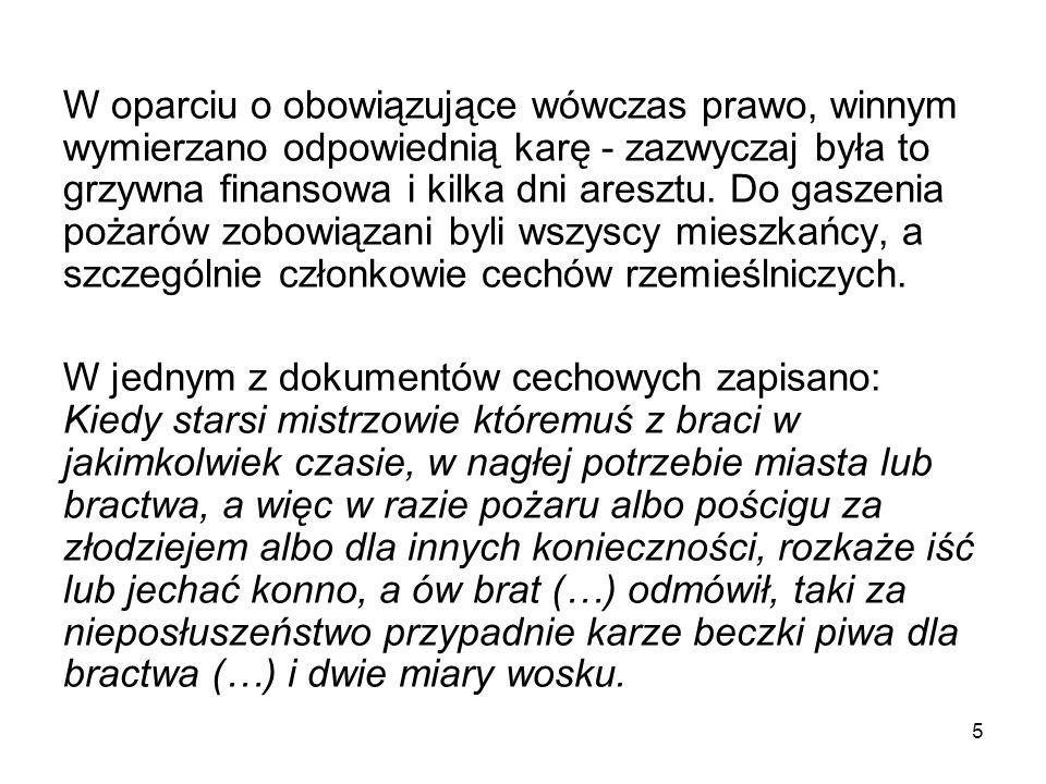 Strażacy z Mieściska - okres międzywojenny (nadesłane przez OSP Mieścisko) 26