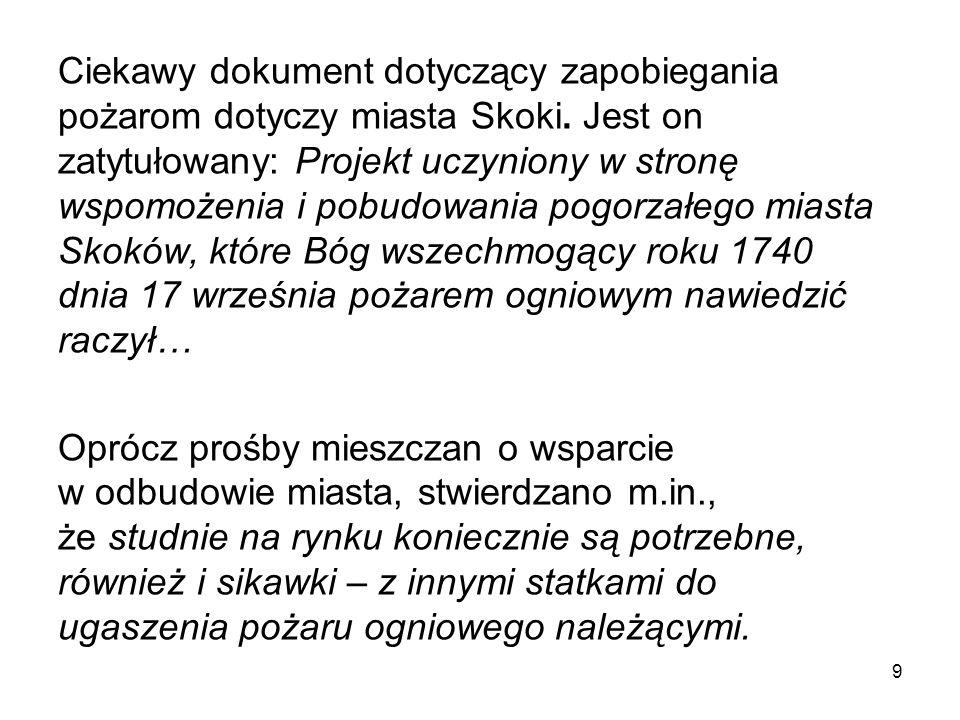 Strażacy z Damasławka - okres PRL (nadesłane przez OSP Damasławek) 40