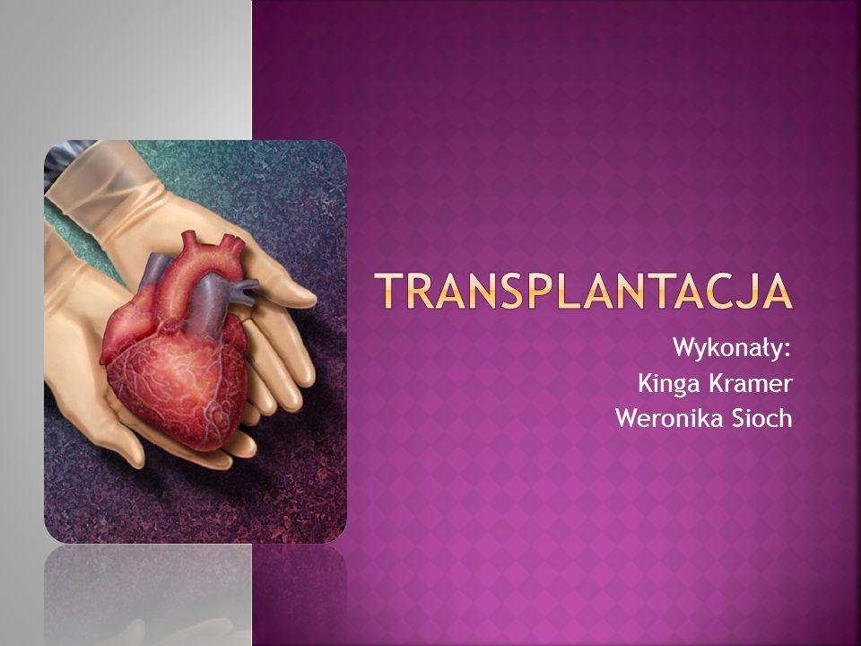Przeszczepianie narządów – przeszczepienie narządu w całości lub części, tkanki lub komórek z jednego ciała na inne (lub w obrębie jednego ciała).