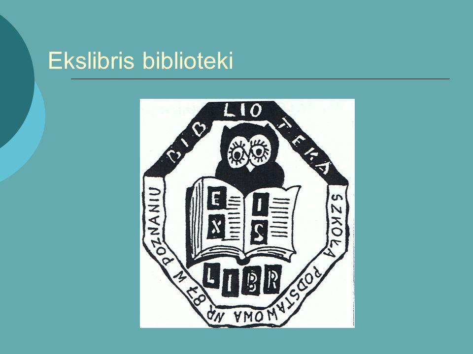 Ekslibris biblioteki