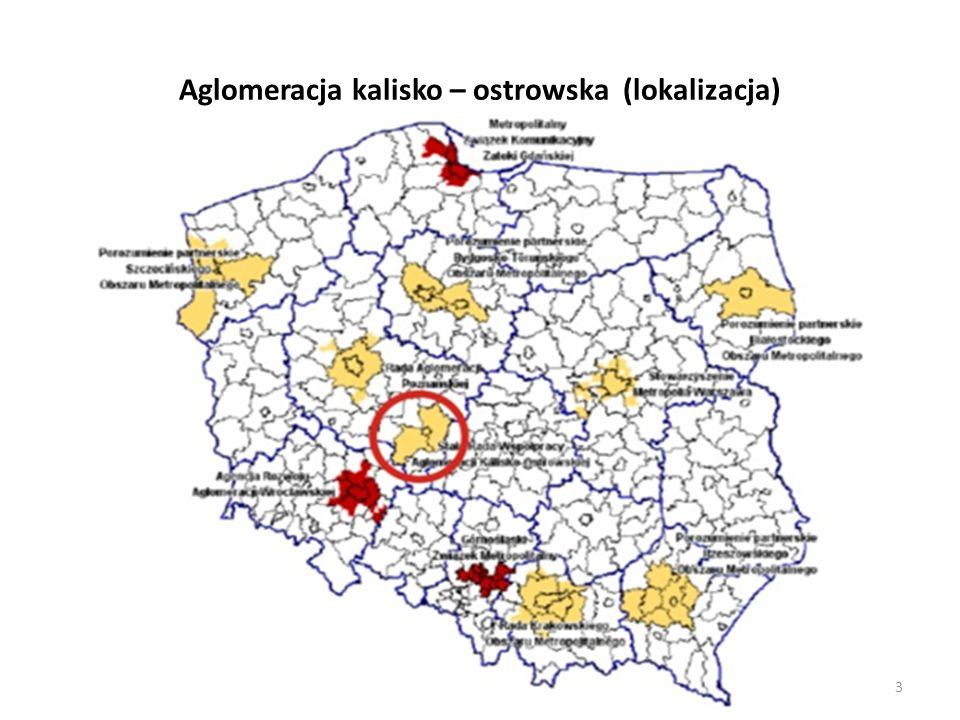 Aglomeracja kalisko – ostrowska (lokalizacja) 3