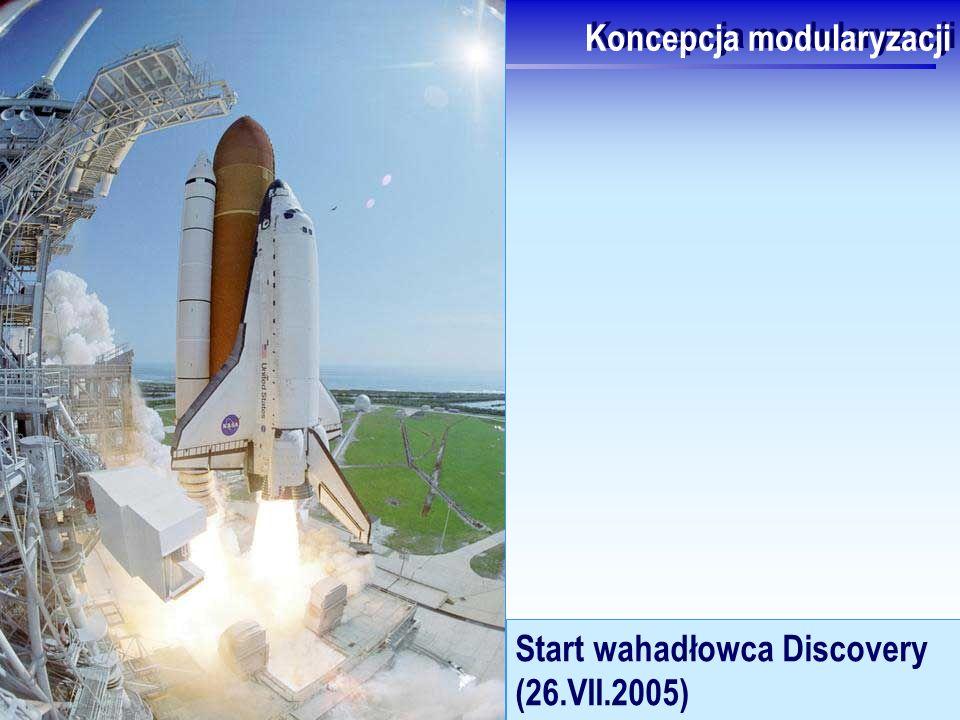 J.Nawrocki, Programowanie imperatywne i C Koncepcja modularyzacji Start wahadłowca Discovery (26.VII.2005)