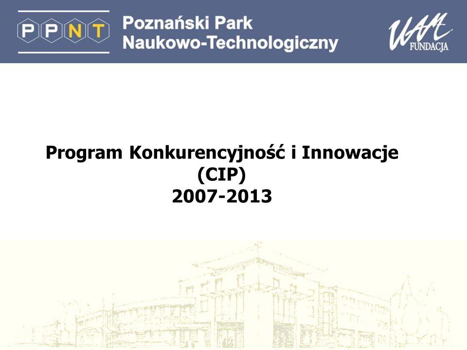 Program Konkurencyjność i Innowacje (CIP) 2007-2013