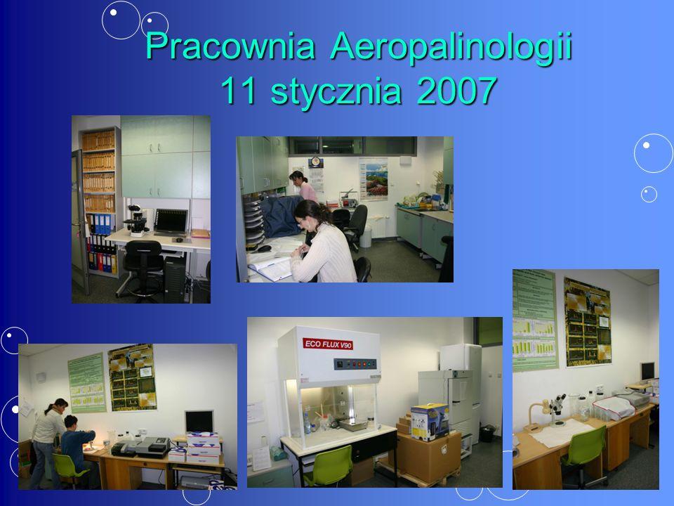 Pracownia Aeropalinologii 11 stycznia 2007