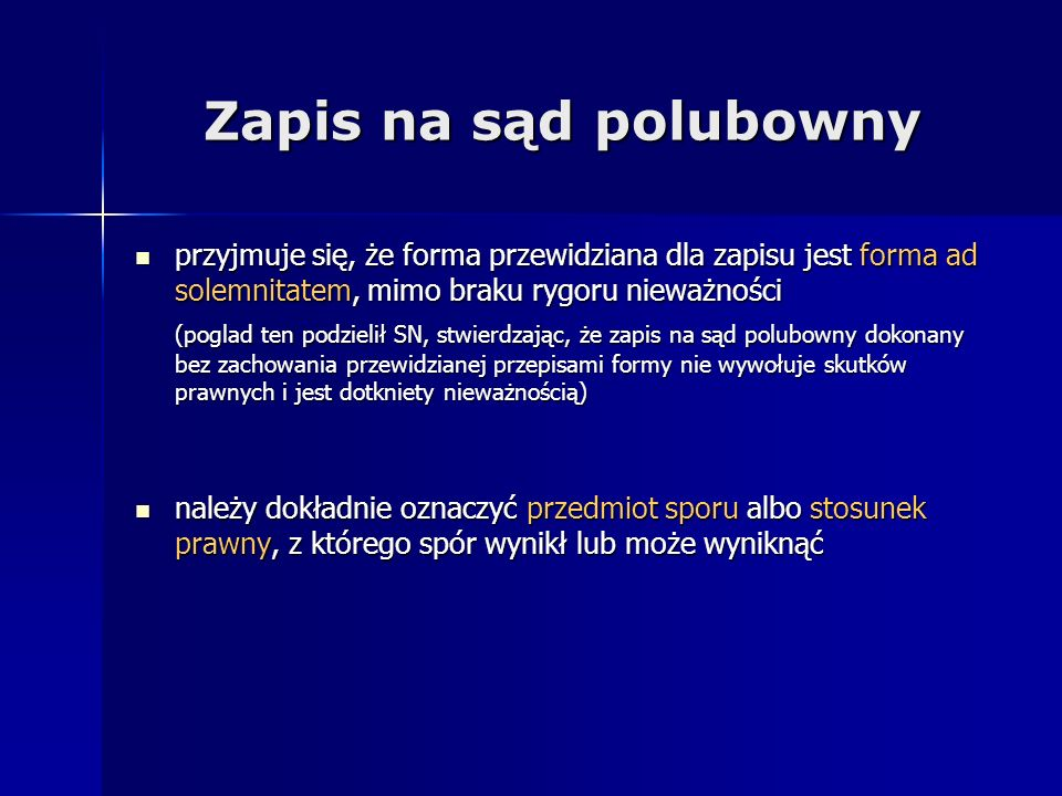 Źródła: www.wiihgdansk.mojbip.pl – WIIH w Gdańsku www.wiihgdansk.mojbip.pl – WIIH w Gdańsku www.wiihgdansk.mojbip.pl www.pssp.org.pl – Polskie Stowarzyszenie Sądów Polubownych www.pssp.org.pl – Polskie Stowarzyszenie Sądów Polubownych www.pssp.org.pl www.ssp.piph.pl – Stały Sąd Polubowny w Gdańsku www.ssp.piph.pl – Stały Sąd Polubowny w Gdańsku www.ssp.piph.pl www.arbiter.org.pl – Krajowy Sąd Arbitrażowy w Warszawie www.arbiter.org.pl – Krajowy Sąd Arbitrażowy w Warszawie www.arbiter.org.pl