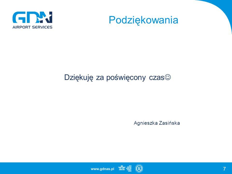 7 Podziękowania Dziękuję za poświęcony czas Agnieszka Zasińska