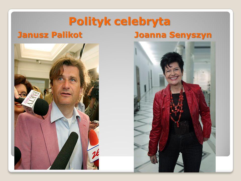 Polityk celebryta Janusz Palikot Joanna Senyszyn