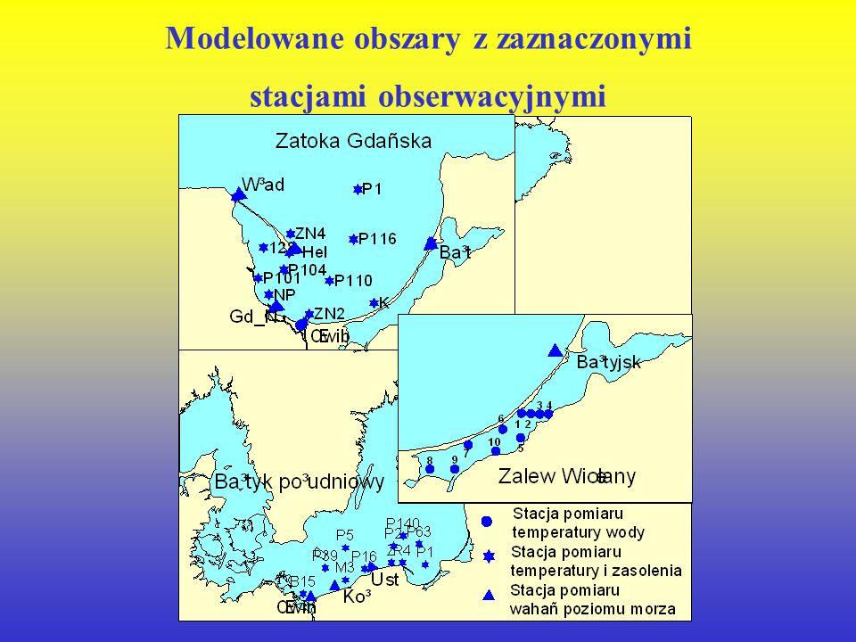 Instytut Oceanografii Uniwersytetu Gdańskiego Jan Jędrasik Weryfikacja modelu hydrodynamicznego i modelu ProDeMo Pracę wykonano w ramach projektu bada