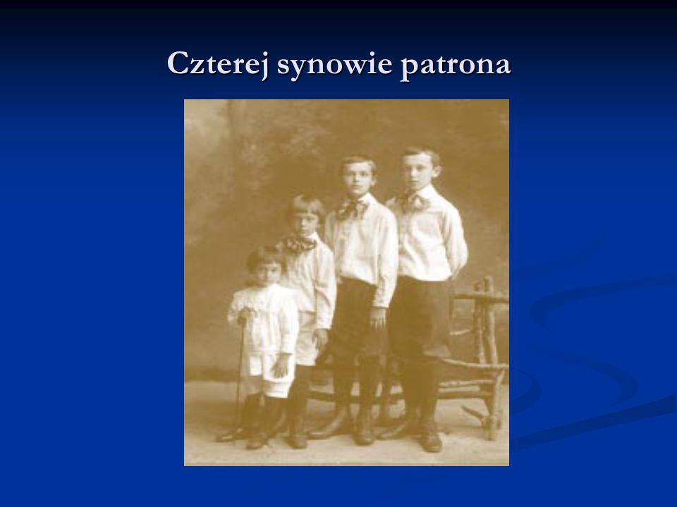 Synowie patrona Synowie Władysława Grabskiego: Wacław (ur.