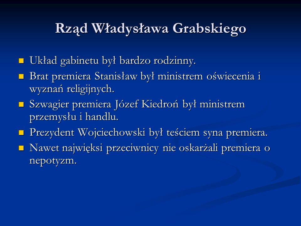 Plan naprawy finansów Grabskiego Przyśpieszenie ściągania podatku majątkowego.