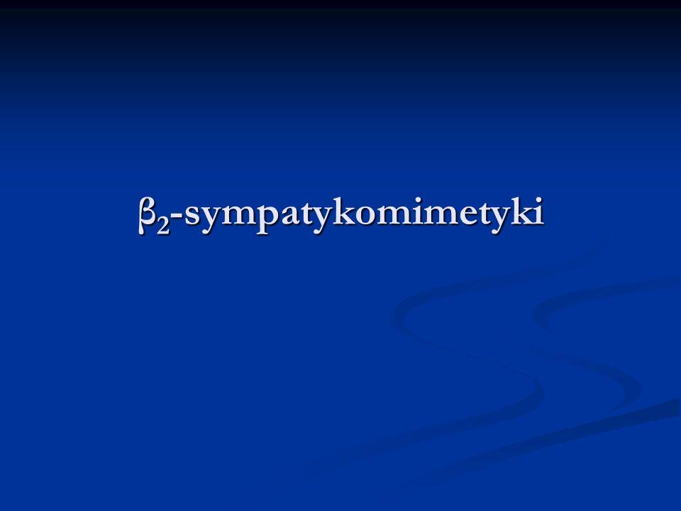 β 2 -sympatykomimetyki