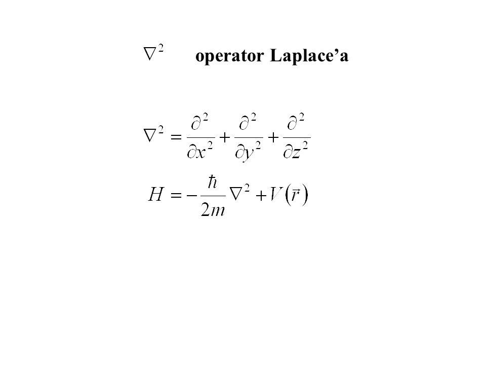 operator Laplacea