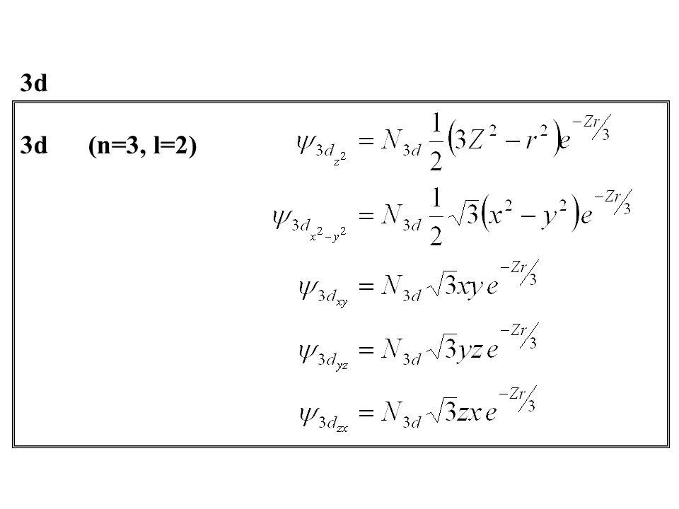 3d(n=3, l=2) 3d
