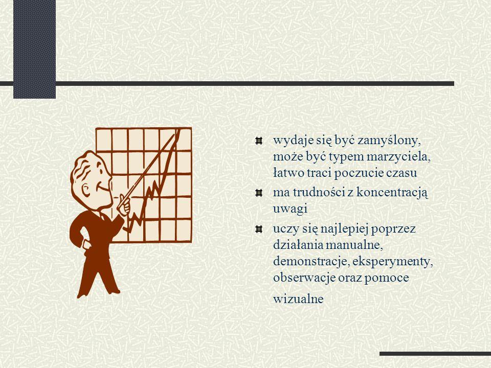 Symptomy dysleksji na zajęciach w szkole Język polski wolne tempo czytania (czasem jedyne objawy trudności w czytaniu); trudności ze zrozumieniem i zapamiętaniem czytanego tekstu; niechęć do czytania długich tekstów i grubych książek.