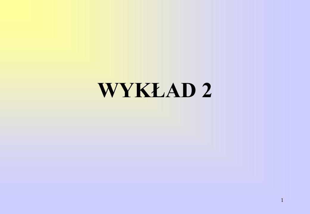 1 WYKŁAD 2