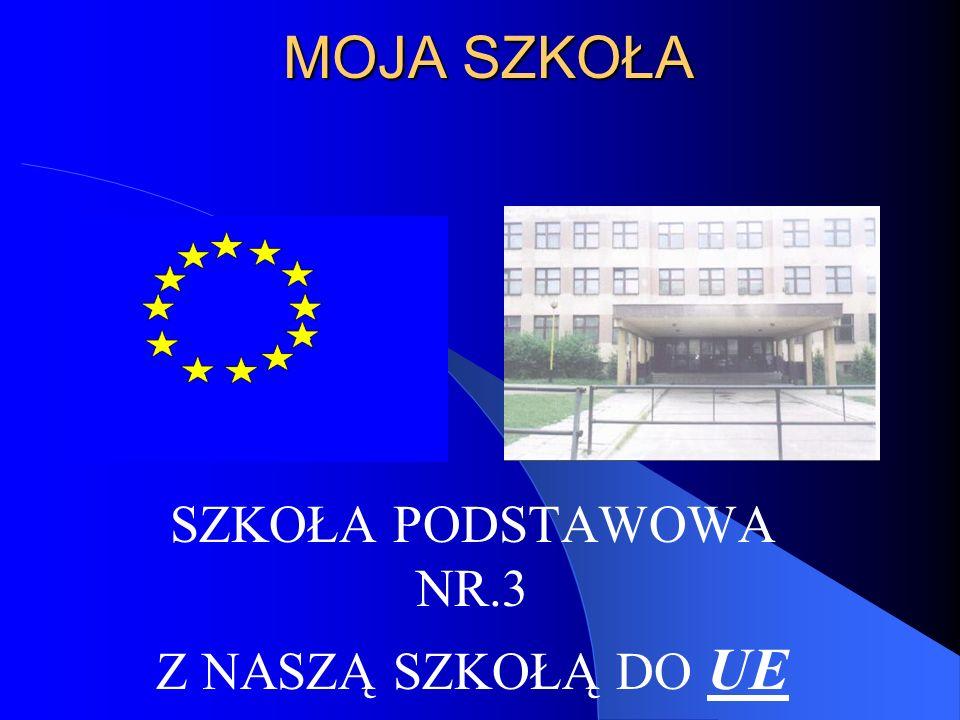 MOJA SZKOŁA SZKOŁA PODSTAWOWA NR.3 Z NASZĄ SZKOŁĄ DO UE