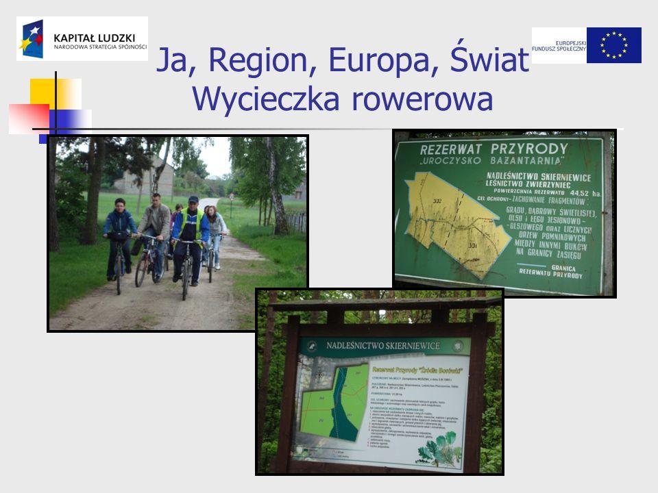 Ja, Region, Europa, Świat Wycieczka rowerowa
