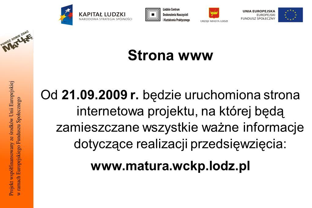 Strona www Od 21.09.2009 r.