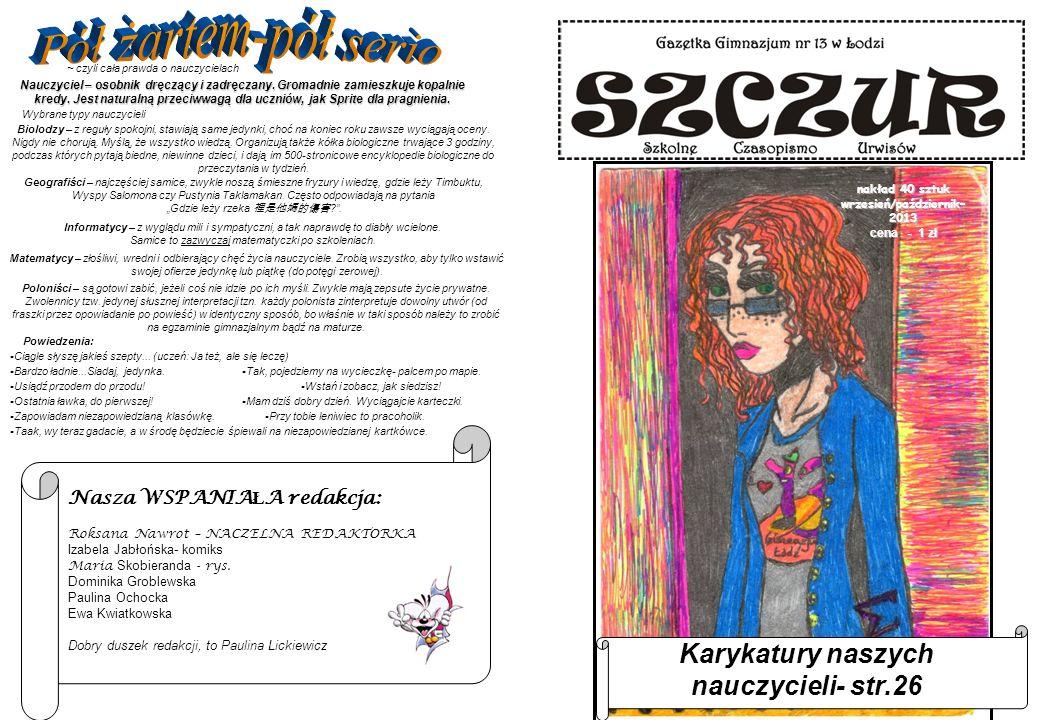 2 - SPIS TREŚCI I SŁOWO WSTĘPNELEKTURA W KOMIKSIE - 27 2.