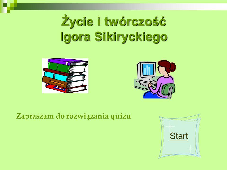 1920 1918 Kiedy urodził się Igor Sikirycki?