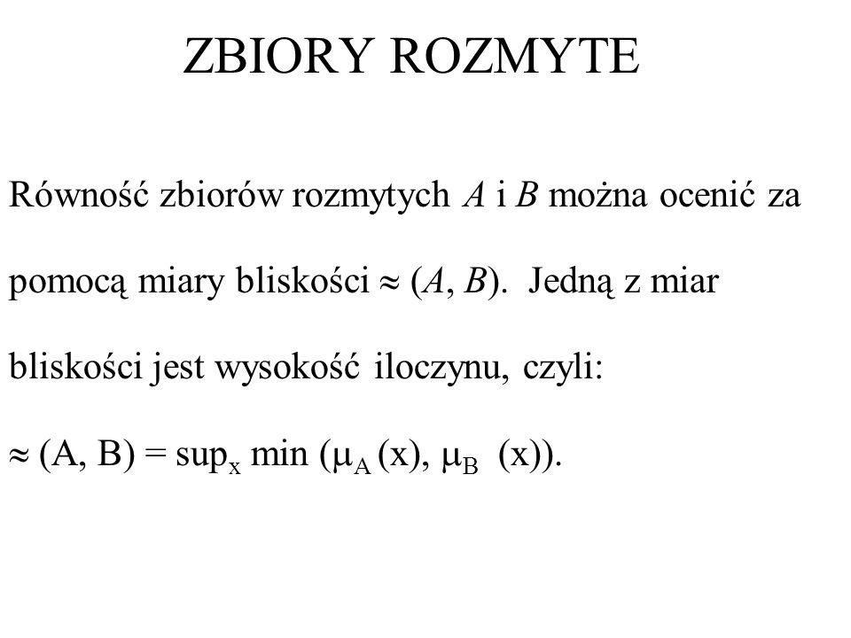 0 1 μ 7.67.88.48.2x Liczba rozmyta (7.8, 8.2, 0.2, 0.2)